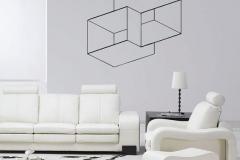 Cubes 3D muraux