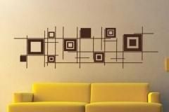 Déco murale noire