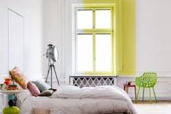 Rectangle fenêtre jaune