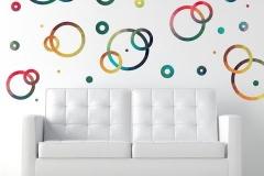 Ronds multicolores