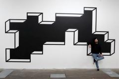 Trou noir mural