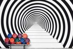 Tunnel Noir & Blanc