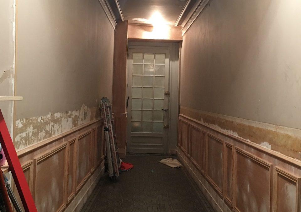 [ENTREPRISE] Rénovation d'un hall d'immeuble