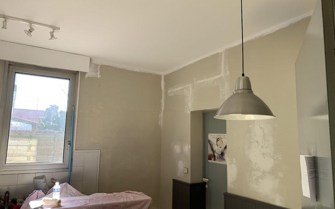 [MAISON] Remise en état de 2 plafonds après dégâts des eaux et plus si affinité …
