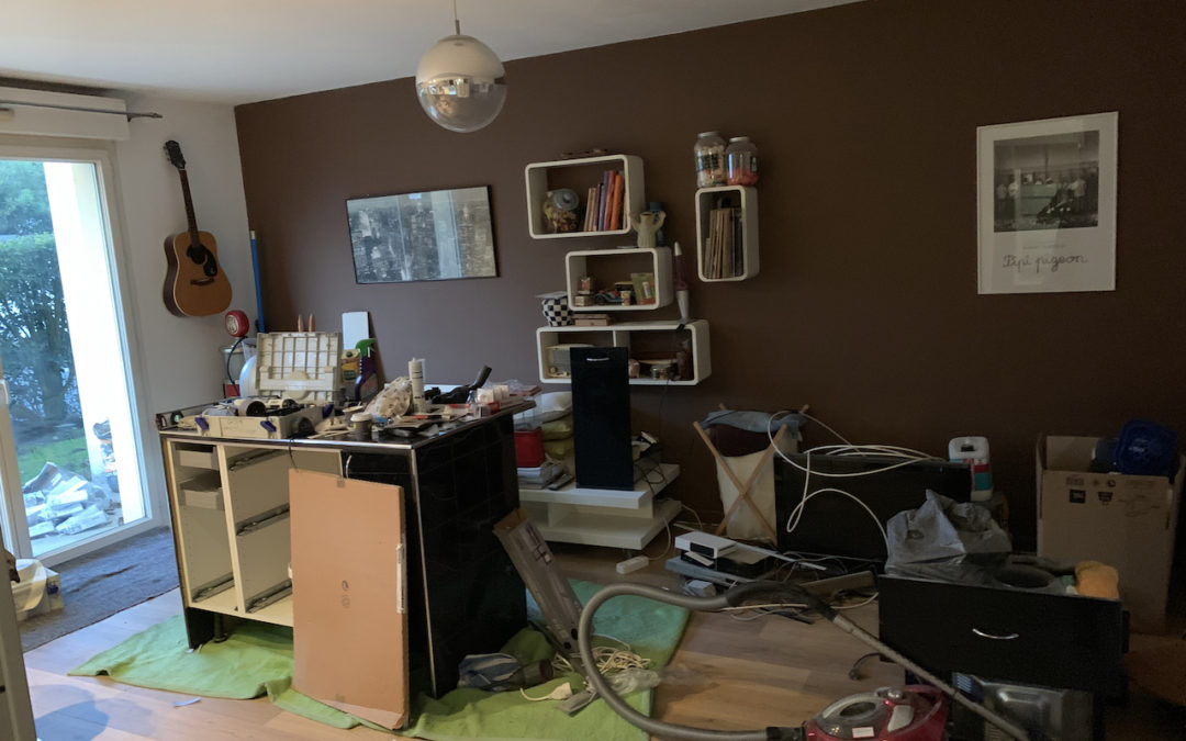 Relooking total d'un appartement sur Mérignac