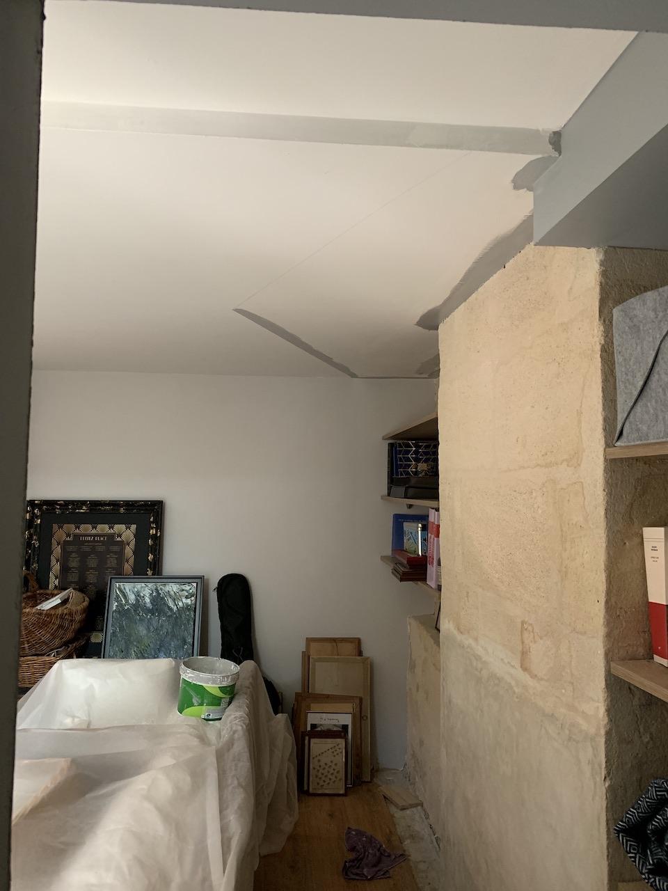 [BORDEAUX] Réalisation d'un triangle gris au plafond