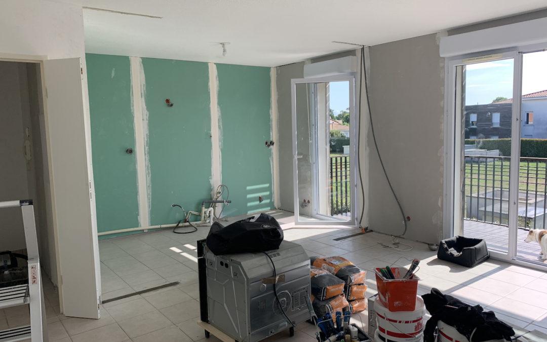 [MERIGNAC] Rénovation complète d'un appartement