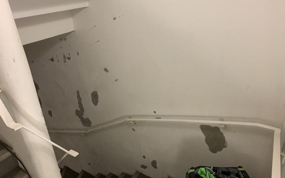 [BORDEAUX] Remise en étant d'une cage d'escalier et de 2 paliers d'un immeuble