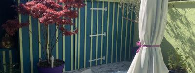 [BORDEAUX] Un jardin d'une échoppe tout en couleur